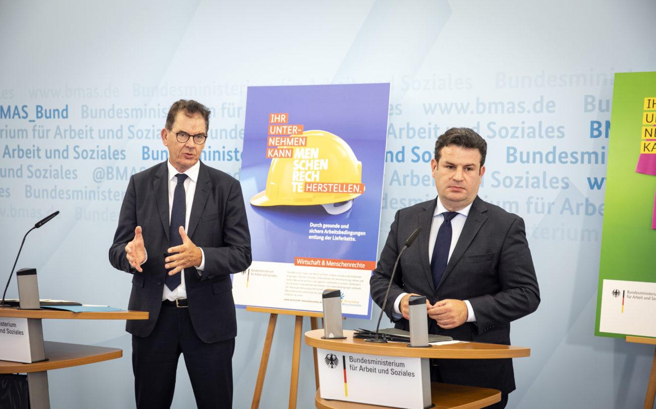 Großer Erfolg für die Menschenrechte: Bundesminister kündigen Lieferkettengesetz an – Merkel stellt sich hinter die Pläne